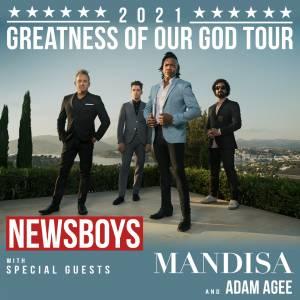 Newsboys - Greatness Of Our God Tour Setlist 2021