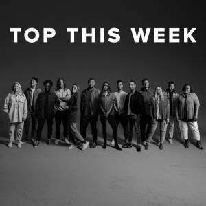 Sheet Music, chords, & multitracks for Top Worship Songs this Week