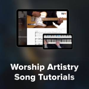 Sheet Music, chords, & multitracks for Top Songs with Tutorials at Worship Artistry