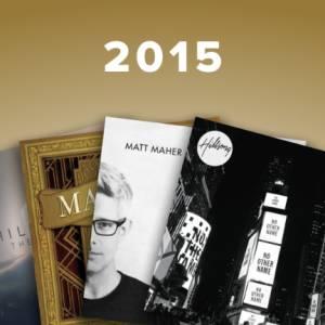 Sheet Music, chords, & multitracks for Top Worship Songs of 2015