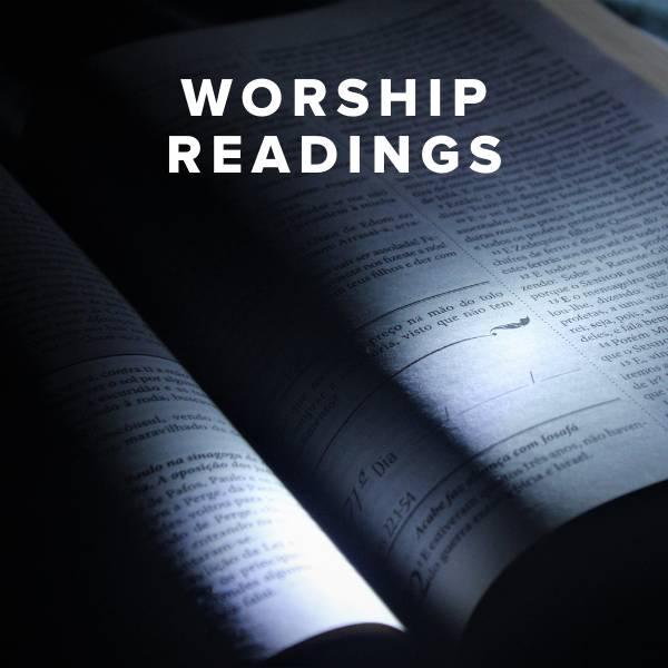 Sheet Music, Chords, & Multitracks for Best Worship Readings