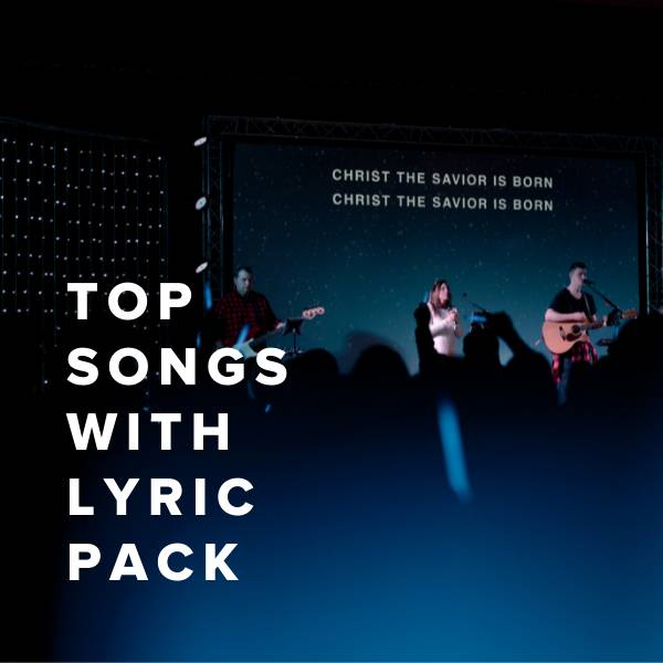 Sheet Music, Chords, & Multitracks for Top Songs with Lyric Pack