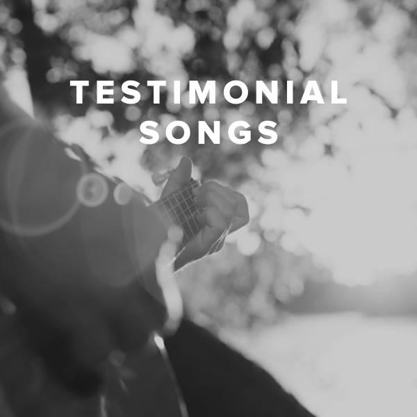 Sheet Music, Chords, & Multitracks for Testimonial Worship Songs