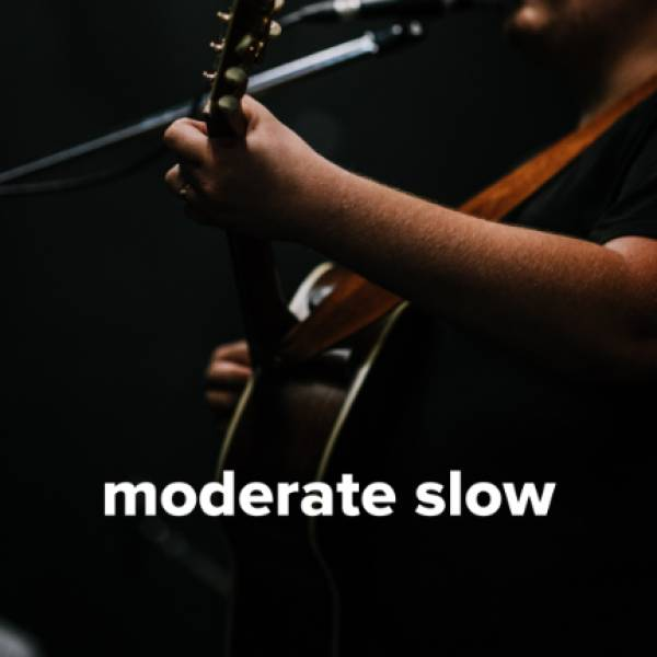 Sheet Music, Chords, & Multitracks for The Best Moderate Slow Worship Songs