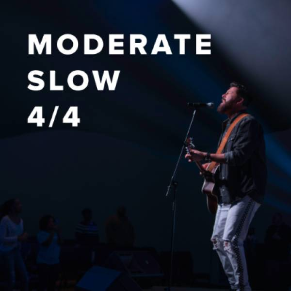 Sheet Music, Chords, & Multitracks for Moderate Slow Worship Songs in 4/4