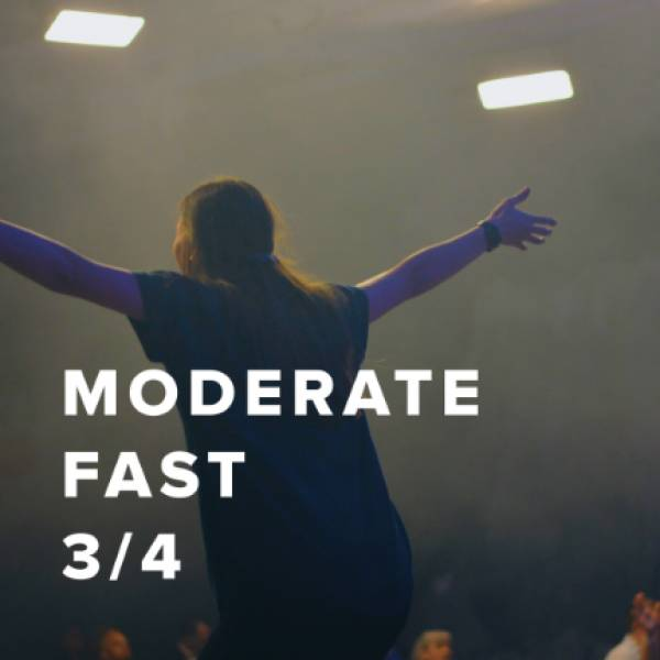Sheet Music, Chords, & Multitracks for Moderate Fast Worship Songs in 3/4