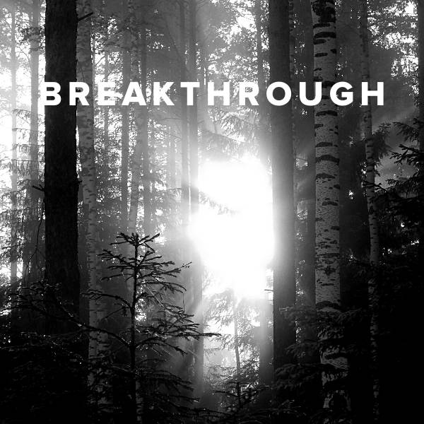Sheet Music, Chords, & Multitracks for Worship Songs about Breakthrough