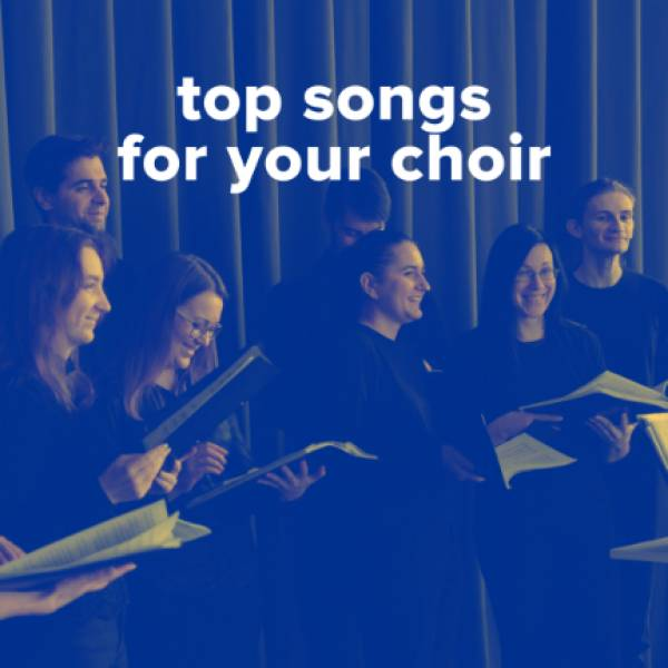 Sheet Music, Chords, & Multitracks for Top Songs For Your Worship Choir