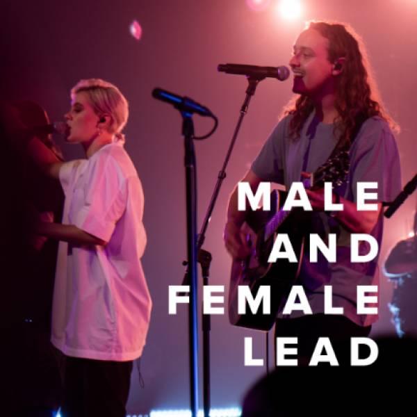 Sheet Music, Chords, & Multitracks for Male & Female Lead Worship Songs